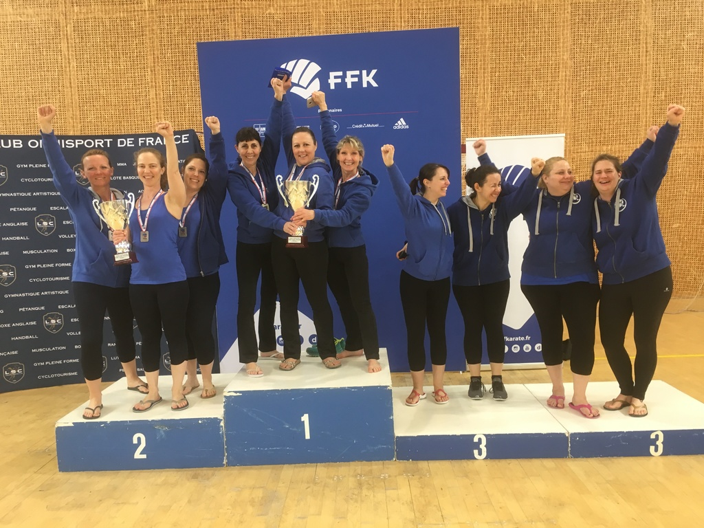 Résultats de Coupe de France de BODY KARATE